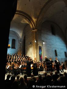 A concert in the Eberbach Abbey © Ansgar Klostermann