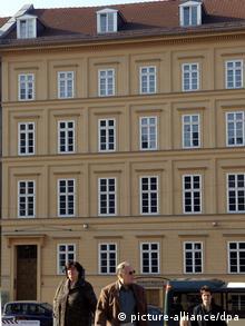 Многоквартирный дом, в котором живет канцлер Германии Ангела Меркель