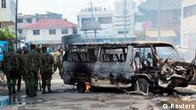 Waandamanaji walivamia magari na majengo mjini Mombasa