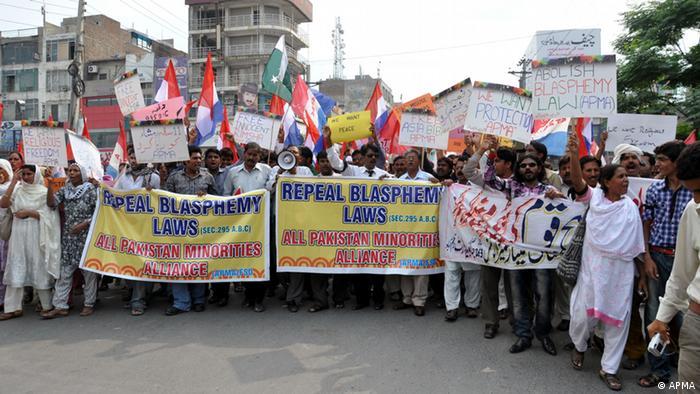 Pakistan APMA Solidaritätsmarsch (APMA)