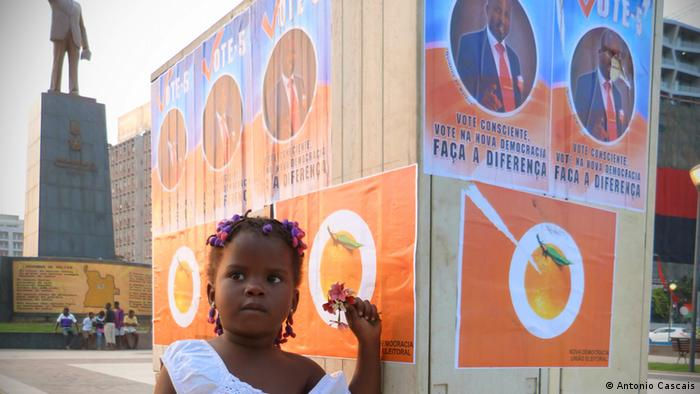 Campanha eleitoral de 2012 na capital angolana