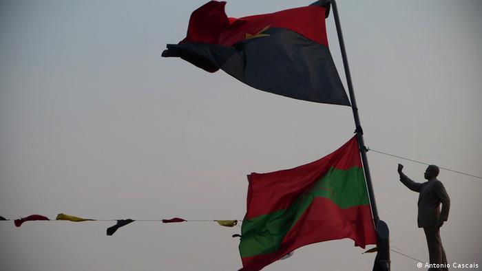 Wahlkampf Afrika Luanda Angola Wahl Wahlkampagne