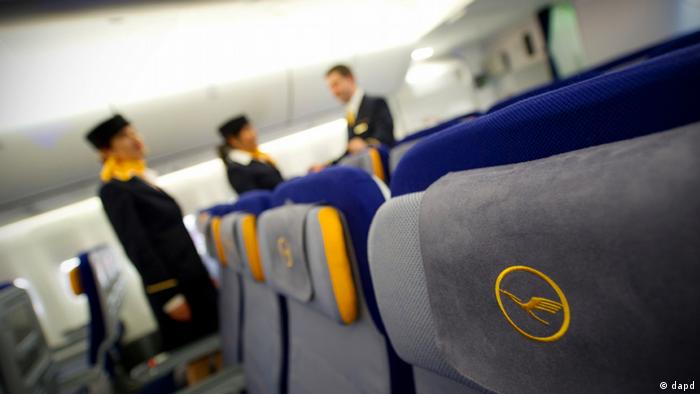 Inside a Lufthansa plane (dapd)