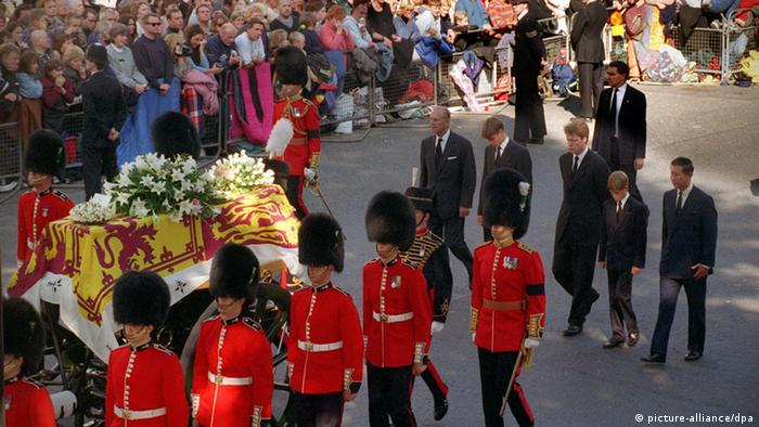 Lady Diana's funeral (picture-alliance/dpa)