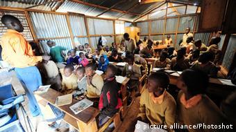 Escuela en barrios marginales de Nairobi