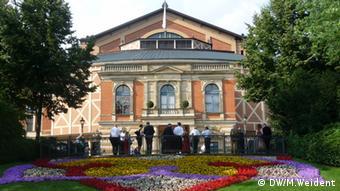 Das Festspielhaus in Bayreuth, aufgenommen im Juli 2012. Copyright: Medana Weident/ DW