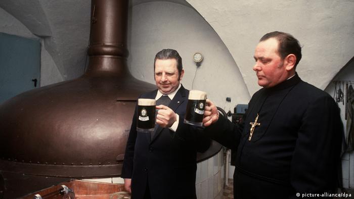 Beer tasting in a Bavarian monastery
