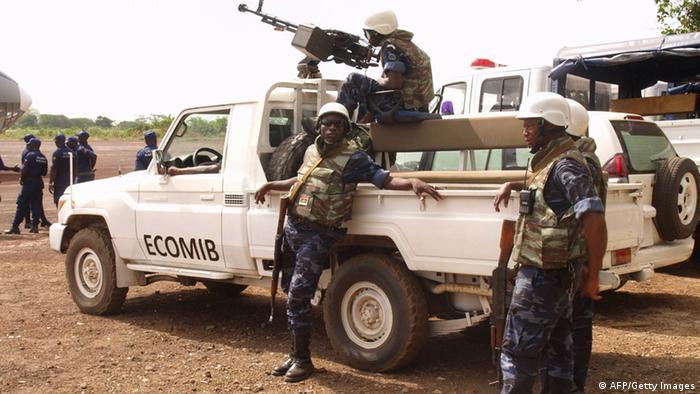 Soldados da CEDEAO na Guiné-Bissau