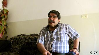 Kurdish leader Salih Muslim Muhammad Copyright: Karlos Zurutuza