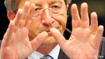 EU-Finanzgipfel gescheitert, Jean Claude Juncker, EU-Ratspräsident während der PK