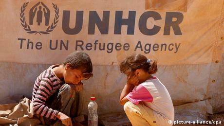 Syrien Flüchtlingslager (picture-alliance/dpa)