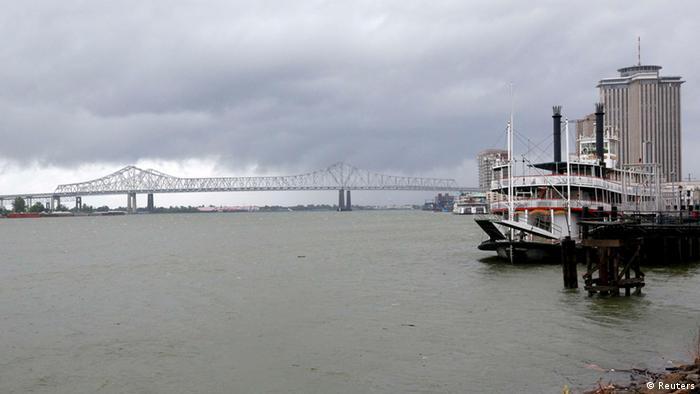 Isaac in Louisiana (Reuters)