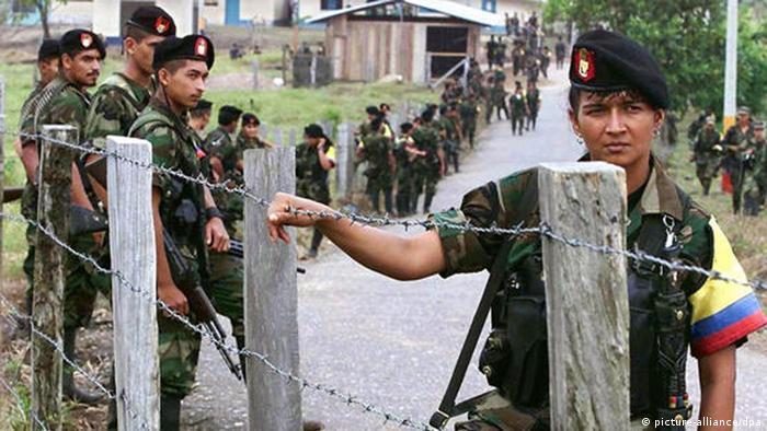 FARC Rebellen in Kolumbien