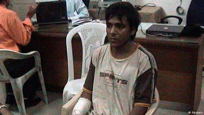Mohammed Ajmal Kasab is seen at an undisclosed location in this file still image from undated footage shown on CNN IBN Television channel on February 3, 2009 (Photo: REUTERS/CNN IBN/Handout/Files)