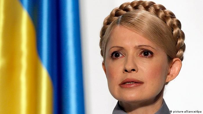 (FILE) A file photograph taken 11 March 2010 of former Ukrainian prime minister and opposition leader Yulia Tymoshenko speaks during a press conference in Kiev, Ukraine. Yulia Tymoshenko former Prime Minister of Ukraine was sentenced to seven years in prison after she was found guilty of abuse of office when brokering the 2009 gas deal with Russia. EPA/SERGEY DOLZHENKO (zu dpa: Spannung in Straßburg: Gerichtshof verhandelt Fall Timoschenko vom 27.08.2012) +++(c) dpa - Bildfunk+++ pixel