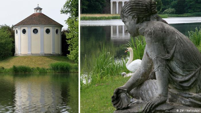 Синагога и нимфа на берегу озера