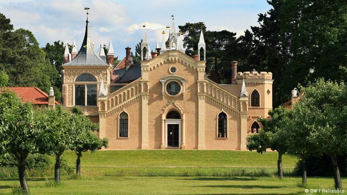 Готический дом в Вёрлице