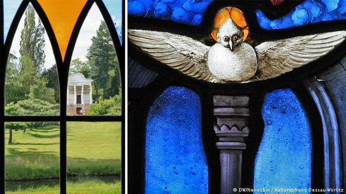Окна Готического дома