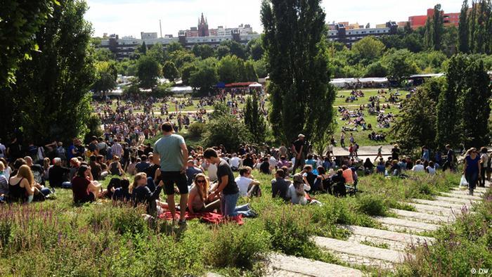 Парк Берлинской стены в немецкой столице