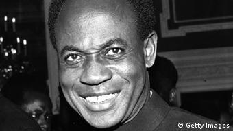 Ghanaian politician Dr Kwame Nkrumah (Photo by Evening Standard/Getty Images)