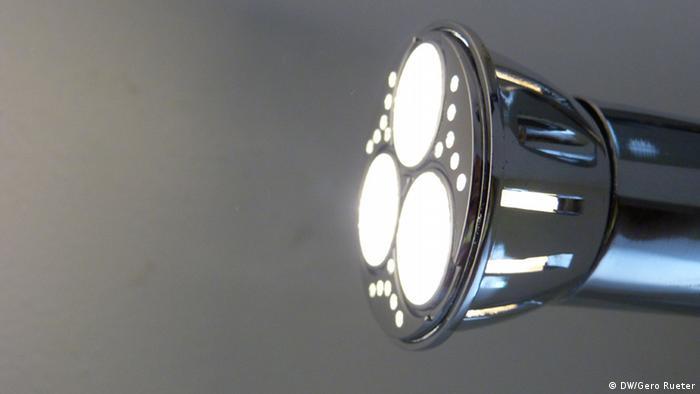 Light-emitting diode Photo: Gero Rueter/DW