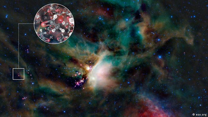 Astronomers have discovered sugar molecules near a star 400 light years away from earth.