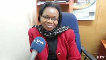 Economics expert Joy Kiiru (Photo: Alfred Kiti, DW-correspondent) Foto: Alfred Kiti (DW-Korrespondent) Wann wurde das Bild gemacht?: 29.08.2012 Wo wurde das Bild aufgenommen?: Nairobi, Kenia