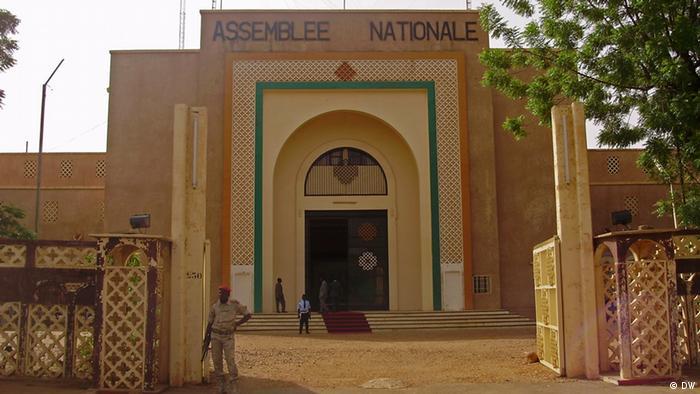 Gebäude der Nationalversammlung in Niamey Niger (DW)