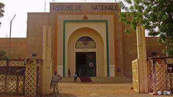 Gebäude der Nationalversammlung in Niamey Niger