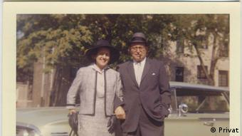 Rachel und Ernst Bensinger in Washington Heights, New York (Foto: Familie Bensinger)