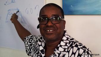 A close up of Herman Chinery-Hesse Foto: Isaac Kaledzi, August 2012, in Accra, Ghana