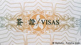 Symbolbild China Visum