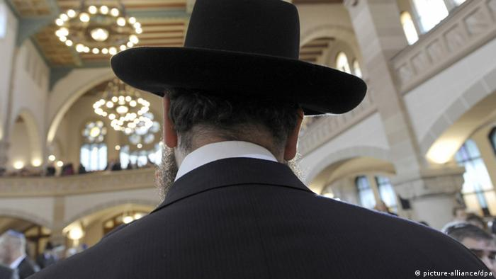 Раввин в шляпе
