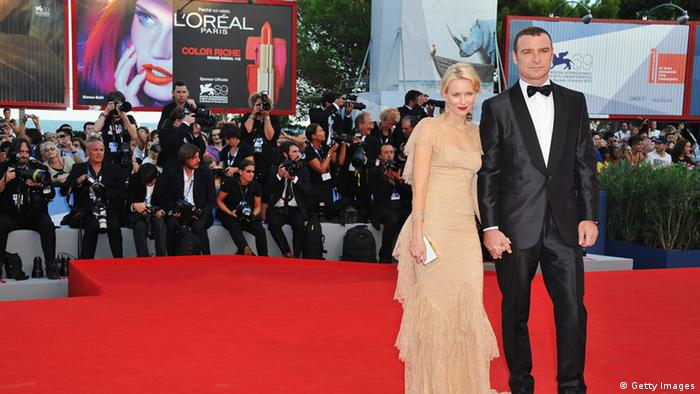 VENICE, ITALY - AUGUST 29: Actors Naomi Watts and Liev Schreiber attend 'The Reluctant Fundamentalist' Premiere And Opening Ceremony during the 69th Venice International Film Festival at Palazzo del Cinema on August 29, 2012 in Venice, Italy. (Photo by Pascal Le Segretain/Getty Images)