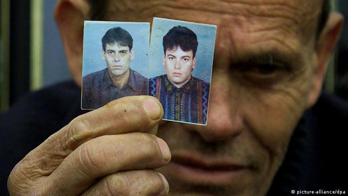 Pristina Vermisst Balkan Kosovo (picture-alliance/dpa)
