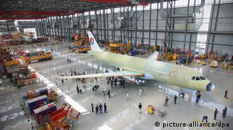 Завод Airbus в Тяньцзине