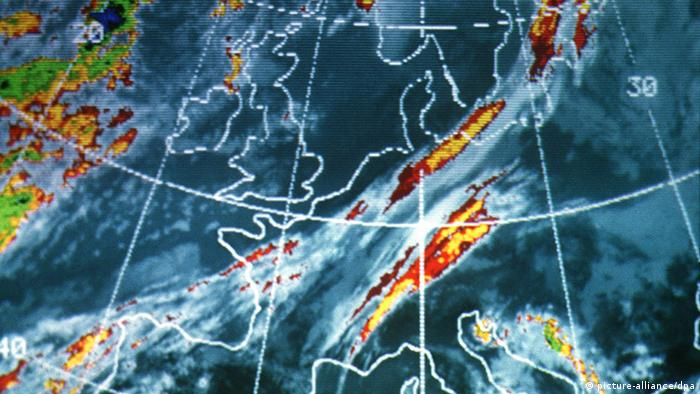 Satellite weather map picture