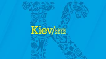 The logo of the 64th World Newspaper Congress in Kyiv.