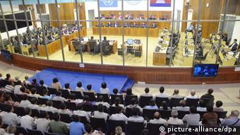 Extraordinary Chambers in the Courts of Cambodia (ECCC) (Photo: EPA/NHET SOK HENG / ECCC / HANDOUT HANDOUT EDITORIAL USE ONLY/NO SALES +++(c) dpa - Bildfunk+++)