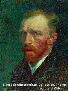 A self-portrait of Vincent van Gogh, Joseph Winterbotham Collection, The Art Institute of Chicago