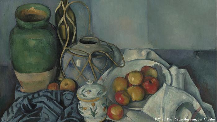 Deu-se muito espaço a pintores como Paul Cézanne. Aqui, 'Natureza-morte com maças', 1893/94