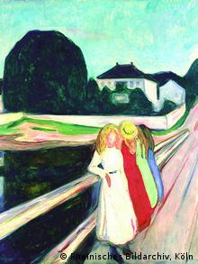 Edvard Munch, 'Quatro meninas sobre uma ponte', 1905