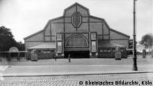 Espaço de exposição Aachener Tor, local da mostra de 1912