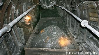 Угольная шахта в Кузбассе