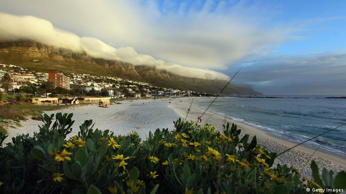 CAPE TOWN, CAPE TOWN - JUNE 19: A general view of Camps Bay on June 19, 2010 in Cape Town, South Africa. (Photo by Dan Kitwood/Getty Images)