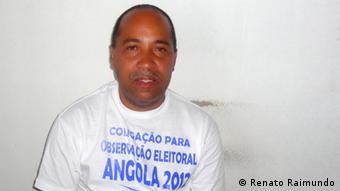 Renato Raimundo, porta-voz da COE2012 teme pela transparência das eleições gerais de 31 de agosto