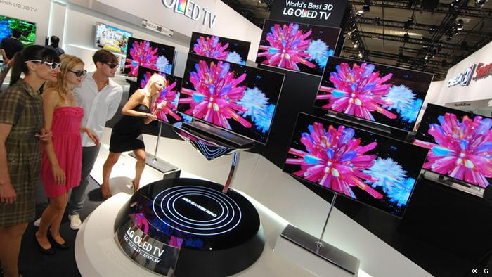 IIFA 2012 - 55 inch OLED TV IFA 2012 - 55 inch OLED TV from LG (Foto: LG)