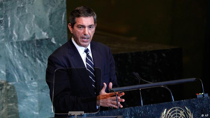 Porträt Stavros Lambrinidis (Foto: AP Photo/Jason DeCrow)