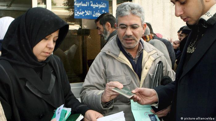 Irakische und syrische Flüchtlinge