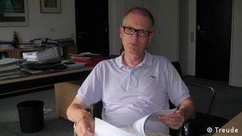 Ulrich Grothus, stellvertretender Generalsekretär des DAAD (Foto: DW/Nina Treude)